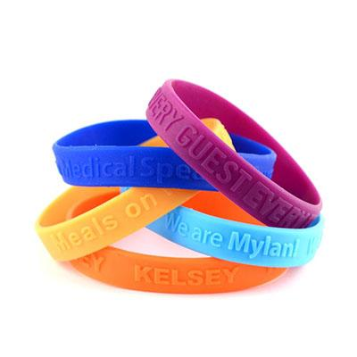Custom Embossed Silicone Wristband | Executive Corporate Gifts Singapore