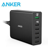 Anker PowerPort+ 6 Ports 60W With Quick Charge 3.0 Charging Station | Executive Door Gifts