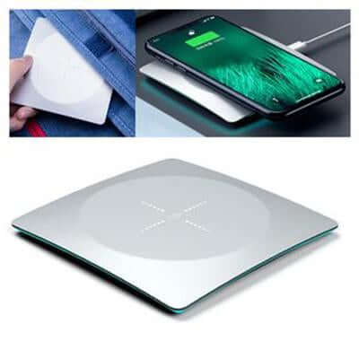 Alloy Super Thin Wireless Charger With Led Light | Executive Corporate Gifts Singapore
