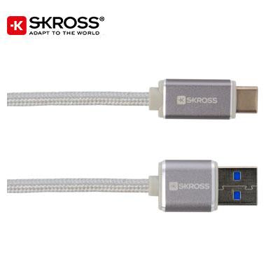 SKROSS USB Type-C Cable – Steel Line - abrandz