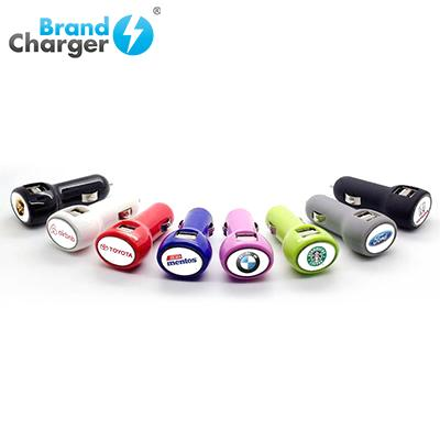 BrandCharger Classic Universal USB Car Charger | Executive Door Gifts