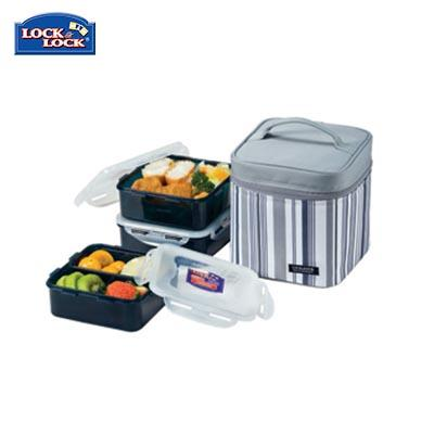 Lock & Lock 3 Pieces Lunch Box Set 870ml | Executive Corporate Gifts Singapore