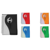 Plastic Cover Notebook with Pen | Executive Corporate Gifts Singapore