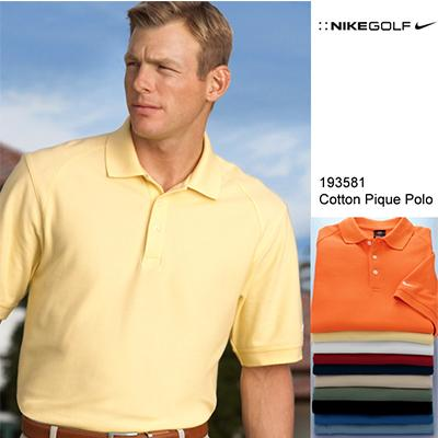 Nike Cotton Pique Golf Polo Shirt - abrandz