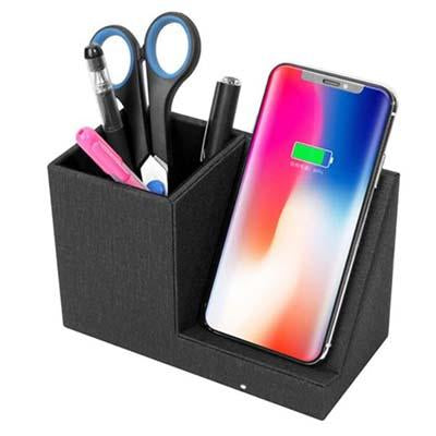 Wireless Charger with Pen Holder | Executive Door Gifts