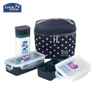 Lock & Lock 2 Pieces Lunch Box and Water Bottle Set | Executive Corporate Gifts Singapore