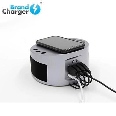 BrandCharger LYNQ Desktop Holder with Speaker and USB Hub | Executive Corporate Gifts Singapore