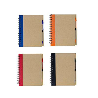 Eco-Friendly Notebook with Pen Set