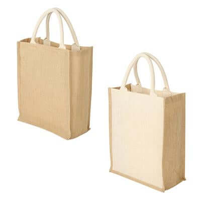 Eco Friendly A4 Jute Bag | Executive Corporate Gifts Singapore