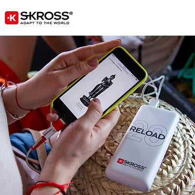 SKROSS Reload 20 Power Bank - 20,000 mAh | Executive Corporate Gifts Singapore