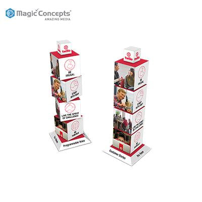 Magic Concepts Magic Revolving Tower | Executive Corporate Gifts Singapore