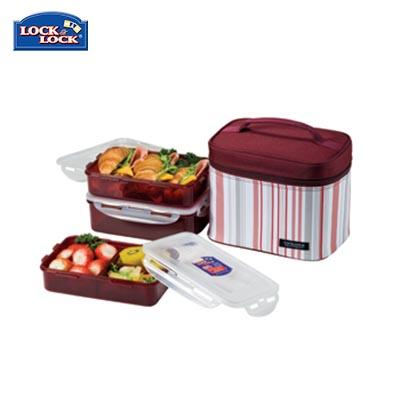 Lock & Lock 3 Pieces Lunch Box Set 800ml | Executive Corporate Gifts Singapore