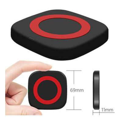 Magnetic location wireless charging Pad - abrandz