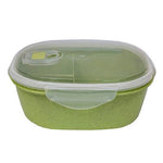 Eco Friendly Wheat Straw Food Container with Spoon | Executive Corporate Gifts Singapore