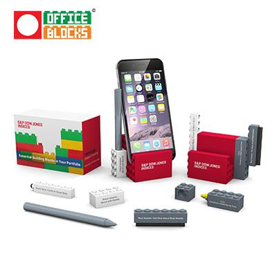 Office Blocks 6 in 1 Phone Stand Set | Executive Corporate Gifts Singapore