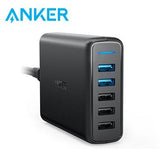 Anker PowerPort Speed 5 Ports 63W With Dual Quick Charge 3.0 Charging Station | Executive Corporate Gifts Singapore