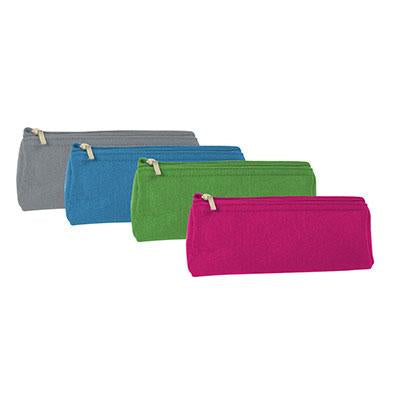 Eco Friendly Wool Felt Stationery Pouch | Executive Corporate Gifts Singapore