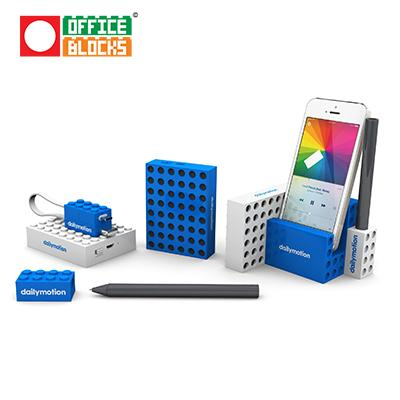 Office Blocks 4 in 1 Desktop Speaker Set | Executive Corporate Gifts Singapore