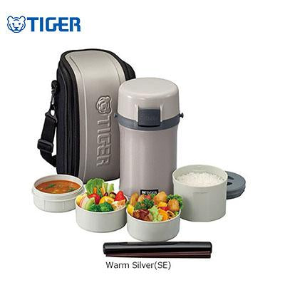 Tiger Lunch Box 4 Containers with Carrier LWE-F