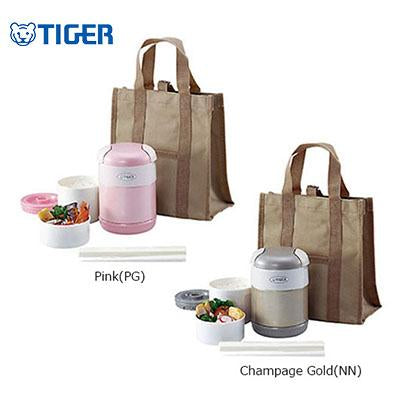 Tiger Lunch Box 2 containers with Bag LWR-A072