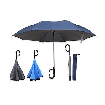 23'' Inverted Foldable Auto Umbrella | Executive Door Gifts