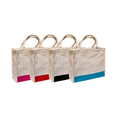 Laminated Canvas Bag with Zip