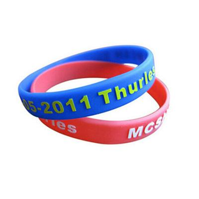 Custom Embossed Printed Silicone Wristband | Executive Corporate Gifts Singapore