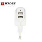 SKROSS 2 Port USB Charger - EURO | Executive Door Gifts