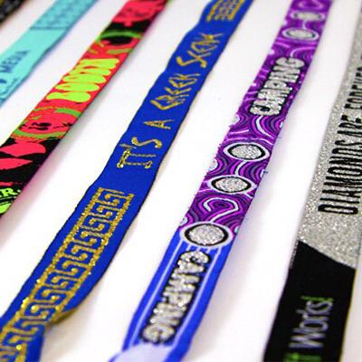 Woven Wristband with Glitter | Executive Corporate Gifts Singapore