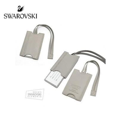 Swarovski DSE Grey Luggage Tag | Executive Corporate Gifts Singapore