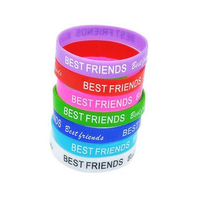 Custom Silkscreen Silicone Wristband | Executive Corporate Gifts Singapore