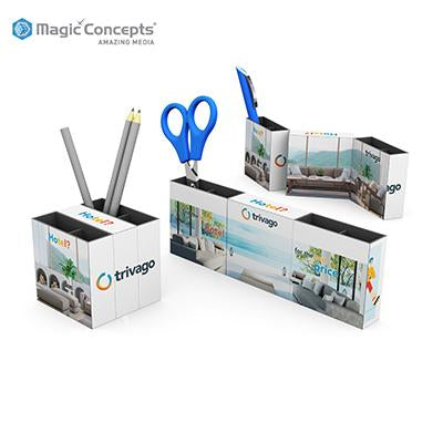 Magic Concepts Magic 3 Panel Pen Pot | Executive Corporate Gifts Singapore