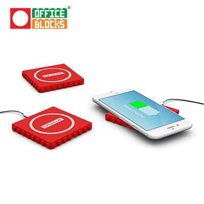 Office Blocks Wireless Charger | Executive Door Gifts