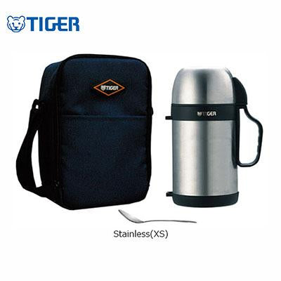 Tiger Food Stainless Steel Jar with Bag MCW-P