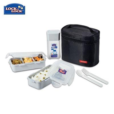 Lock & Lock 2-tier BPA Free Lunch Box and Water Bottle Set | Executive Corporate Gifts Singapore