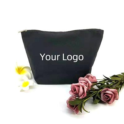 Eco-friendly Stand Up Canvas Zipper Pouch