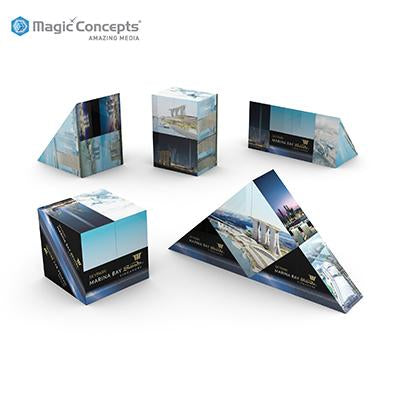 Magic Concepts Magic Magnetic Triangle | Executive Corporate Gifts Singapore