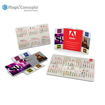 Magic Concepts Magic Card 160 Calendar | Executive Corporate Gifts Singapore