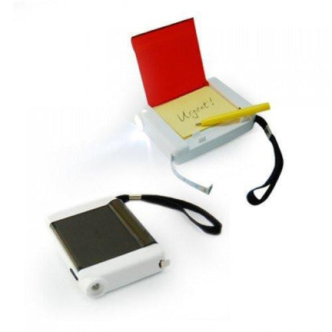 4 in 1 Measuring Tape, LED Light, Pencil & Notepad | Executive Corporate Gifts Singapore