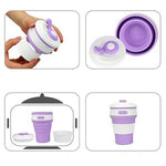 Foldable Telescopic Silicone Cup | Executive Corporate Gifts Singapore