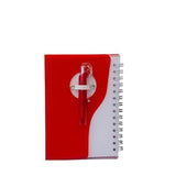 Plastic Cover Notebook with Promotion Pen