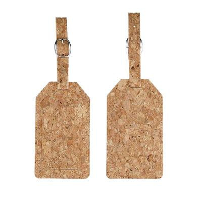 Eco-friendly Cork Fabric Luggage Tag