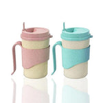Eco Friendly Biodegradable Wheat Straw Coffee Mug - abrandz