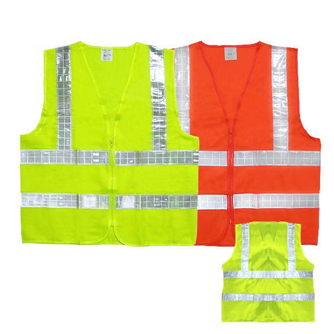 SAFETY VEST WITH REFLECTIVE STRIPS | Executive Corporate Gifts Singapore