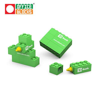 Office Blocks Highlighter Set | Executive Corporate Gifts Singapore
