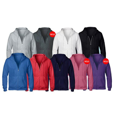 Gildan Adult Zipped Hoodie | Executive Corporate Gifts Singapore