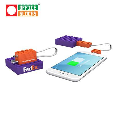 Office Blocks Power Bank | Executive Door Gifts