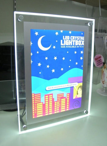 LED Crystal Light Box | Executive Corporate Gifts Singapore