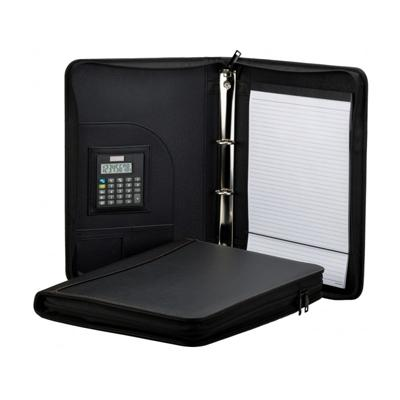 A4 PU Ring Binder Folder with Zipping | Executive Corporate Gifts Singapore