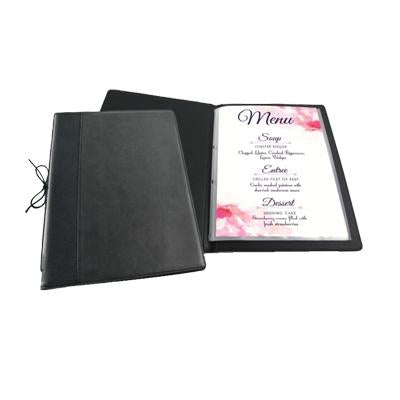 A4/A5 PU LEATHER REFILLABLE MENU HOLDER | Executive Door Gifts